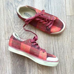 KEEN Elsa III Plaid Sneaker